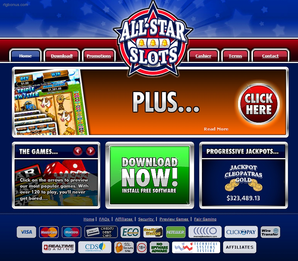 All Star Slots Casino Rtg Bonuses No Deposit Casino Bonus Codes