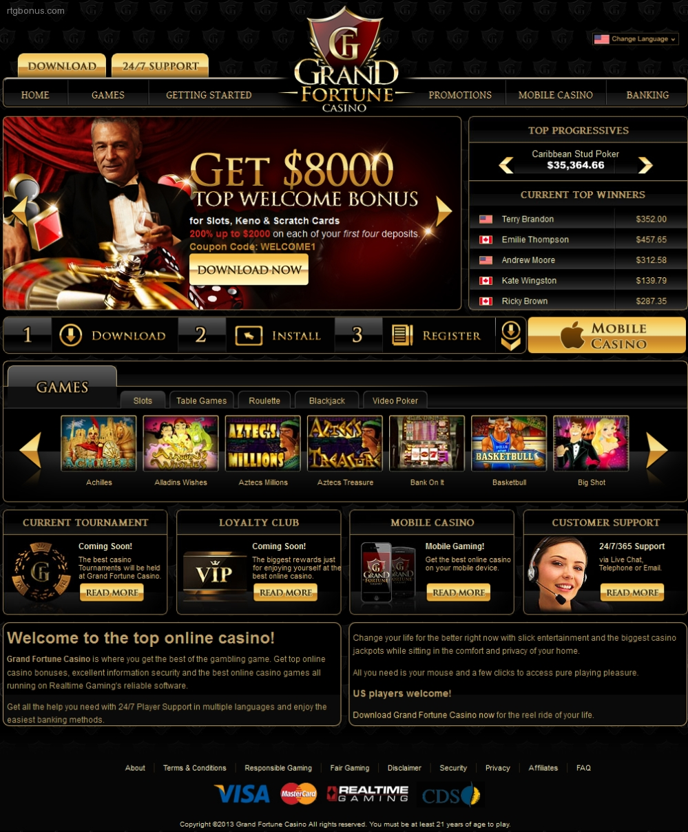 grand fortune casino no deposit codes