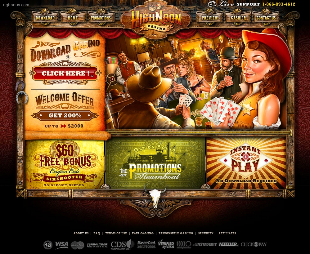 high noon casino no deposit bonuses codes