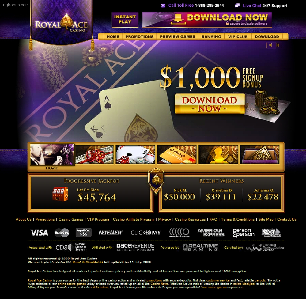 royal ace casino free chips