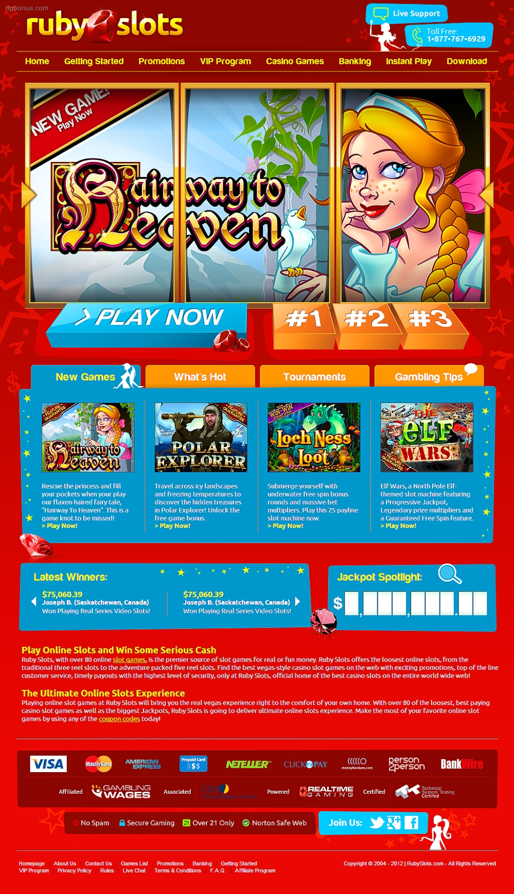 ruby slots casino no deposit bonus codes