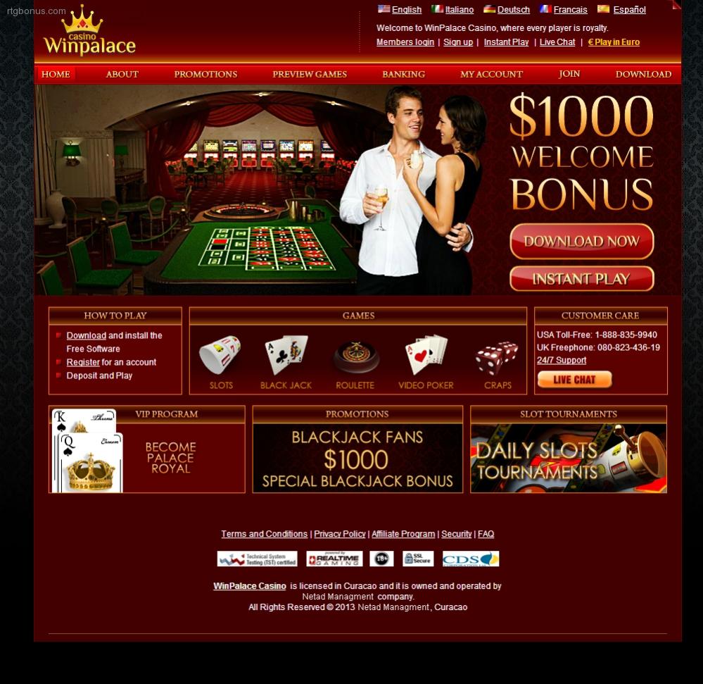 Win Palace Casino